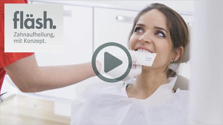 Zum youTube Film der Firma bluedenta GmbH zum Thema Fläsh