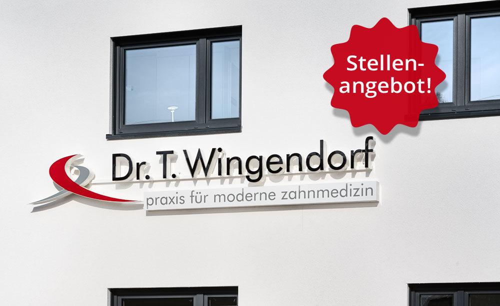 Stellenangebot Zahnarztpraxis Dr. Wingendorf Grevenbrück