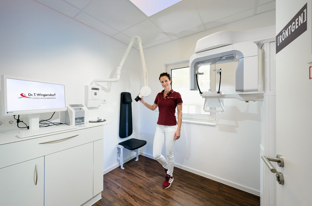 Zahnarztpraxis Dr. Thomas Wingendorf Grevenbrück — Röntgen.Foto Dietrich Hackenberg
